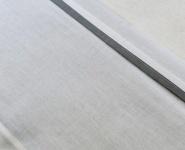 Jollein Laken Wit Met Bies Grijs  120 x 150 cm
