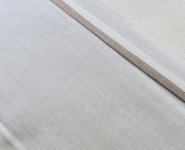 Jollein Laken Wit Met Bies Zand  120 x 150 cm
