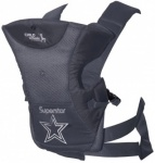 Childhome Baby Carrier Antraciet Superstar