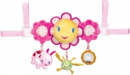 Bright Starts Hop Along Carrier Pretty In Pink Toy Bar