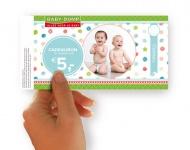 Baby-Dump Cadeaubon € 5,-