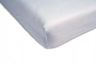 Airgosafe Hoeslaken Wit  70 x 140 / 150 cm