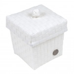 Handed By Box & Top Ascoli Mini White