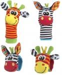 Playgro Jungle Wrist Rattle & Foot Finder