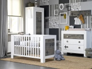 Coming Kids Ledikant 60-120 / Commode 3 Laden 