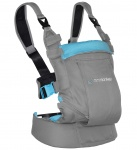 Minimonkey Dynamic Carrier Light Grey / Turquoise