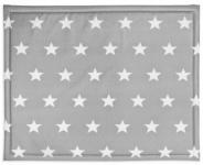 Jollein Boxkleed Little Star Dark Grey  75 x 95 cm