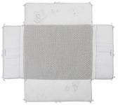 Noukie's Boxkleed Poudre D'étoiles Met Omranding 75 x 95 cm