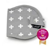 KipKep Napper Borstkompressenetui Crossy Grey