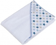 Little Dutch Badcape Mixed Stars Mint 75 x 75 cm
