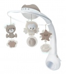Infantino Watch Over Me 3in1 Projector Musical Mobile Cream