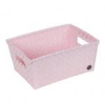 Handed By Bibbona Open Basket Powder Pink