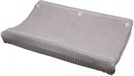 Koeka Waskussenhoes Wafel Amsterdam Silver Grey