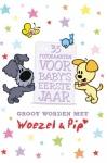 Leopold Fotokaarten Groot Worden Met Woezel & Pip