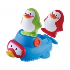 B-Kids Bath Squirt 'N Sail Penguins
