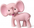Infantino Bijtspeeltje Olifant Pink