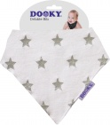 Dooky Dribble Bib Silver Star