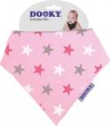 Dooky Dribble Bib Pink Star