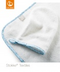 Stokke® Flexi Bath™ Badcape Blue Checks
