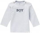 Noppies T-Shirt Newman Grey Blue