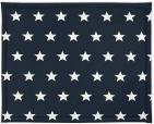 Jollein Boxkleed Little Star Navy 75 x 95 cm