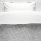 Noukie's Dekbedovertrek Sublime Grijs/Zilver 100 x 140 cm