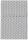 Cottonbaby Ledikantlaken Triangel Zwart/Wit 120 x 150 cm