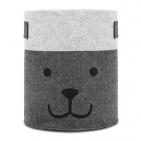 Jollein Opbergmand Vilt Bear Grey XL