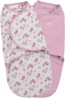 SwaddleMe Small 2-Pack Tweet Tweet/Pink