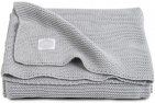 Jollein Deken Basic Knit Light Grey 100 x 150 cm