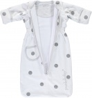 Puckababy Bag Newborn White Dotty 0-6 mnd