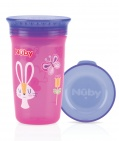 Nûby Drinkbeker 360º Roze 300ml