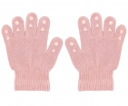 Go Baby Go Grip Gloves Dusty Rose