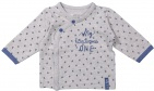 Dirkje T-Shirt Stars Grey/Blue