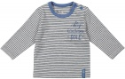 Dirkje T-Shirt Stripe Grey/Blue