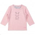 Dirkje T-Shirt Bunny Pink Melee