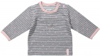 Dirkje T-Shirt Stripe Grey/Pink
