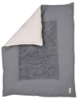 Koeka Boxkleed Wafel Amsterdam Steel Grey/Pebble 80 x 100 cm