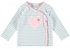 Babylook T-Shirt Stripes Blue
