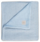 Jollein Deken Winter Soft Knit Soft Blue 75 x 100 cm