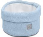 Jollein Verzorgingsmand Soft Knit Soft Blue