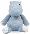 Jollein Knuffel Soft Knit Hippo Soft Blue