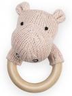 Jollein Rammelaar Soft Knit Hippo Creamy Peach