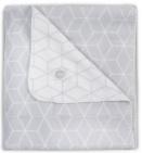 Jollein Deken Graphic Grey 100 x 150 cm