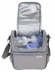 Bo Jungle Borstkolf Organizer Grey