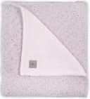 Deken Winter Confetti Knit Vintage Pink 75 x 100 cm