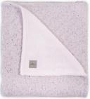 Deken Winter Confetti Knit Vintage Pink 100 x 150 cm