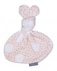 Petit Juul Knuffel Konijn Pink Dot/ Cream Teddy