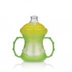 Nûby Trainer Cup 4 in 1 Groen 6mnd+ 240ml
