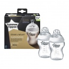 Tommee Tippee Closer To Nature Flessen 260ml (2 stuks)